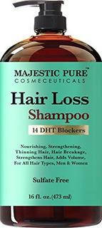 Majestic Pure Hair Loss Shampoo, Ofrece Una Solución Efecti