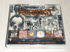 Box Gorefest - The Nuclear Blast Recordings (alemão 6 Cd