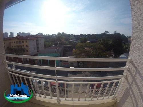 Apartamento Com 2 Dormitórios E 2 Vagas De Garagem À Venda, 50 M² - Vila Rio De Janeiro - Guarulhos/sp - Ap1311