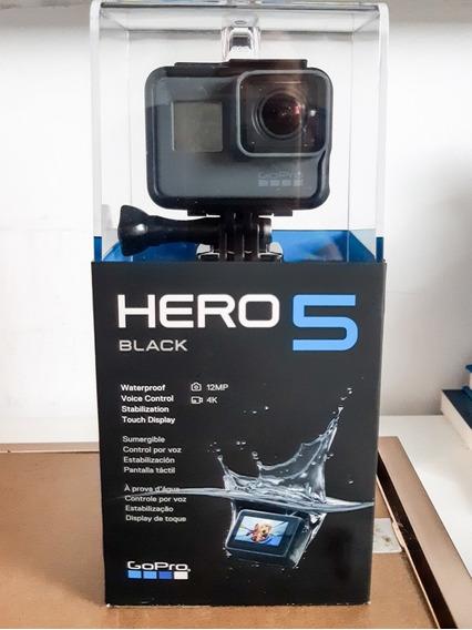 Gopro Hero 5 Black Na Caixa + Cartão 32gb Sandisk