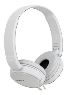 Auricular Vincha Sony Mdr Zx110 Super Bass Plegables Blanco