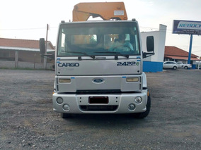 Ford Cargo 2422 Munck 2006 Prata (8327)