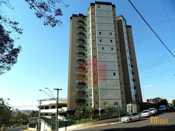 Apartamento Residencial Para Locação, Jardim Santa Rosa, Nova Odessa. - Ap0187