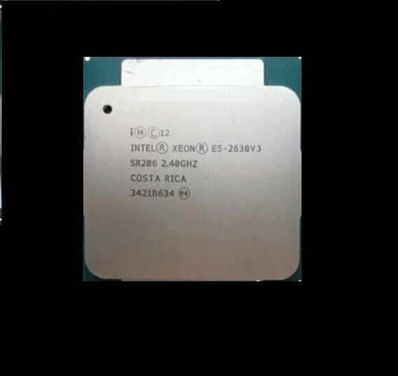 Intel Xeon 8 Core E5-2630v3 2.4ghz 20mb Smart Cache 85w