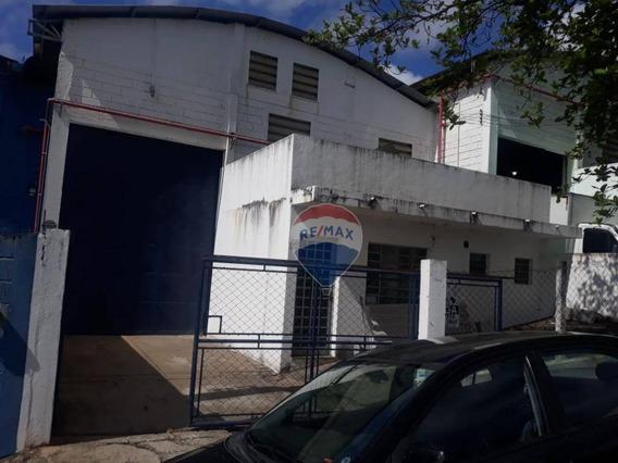 Galpão Para Alugar, 503 M² Por R$ 4.260/mês - Vila Industrial - Bom Jesus Dos Perdões/sp - Ga0160