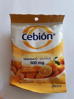 Vitamina C,500 Mg, Sabor Naranja. Refuerza Tus Defenzas.