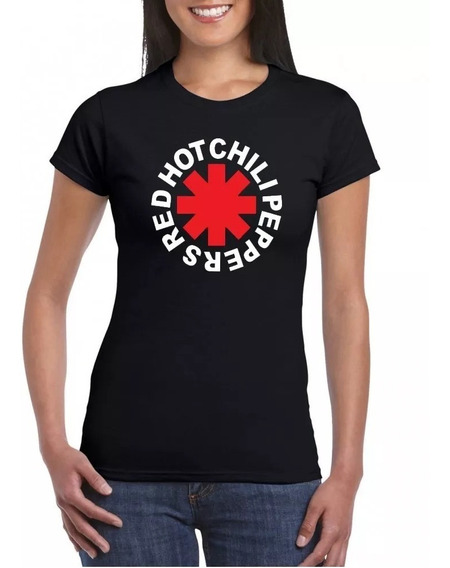Playera Red Hot Chili Peppers Mujer