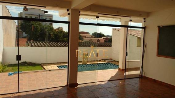 Casa Com 4 Dormitórios Para Alugar, 214 M² Por R$ 3.000/mês - Vila Planalto - Vinhedo/sp - Ca1257