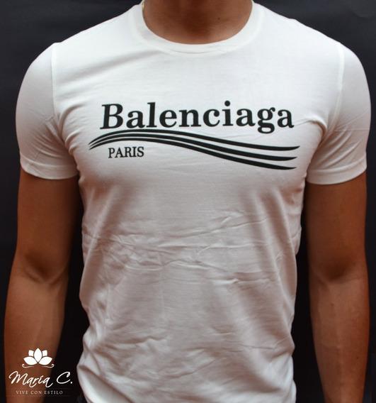 baratas para la venta diseño popular límpido a la vista Camiseta Balenciaga - Ropa y Accesorios en Mercado Libre ...