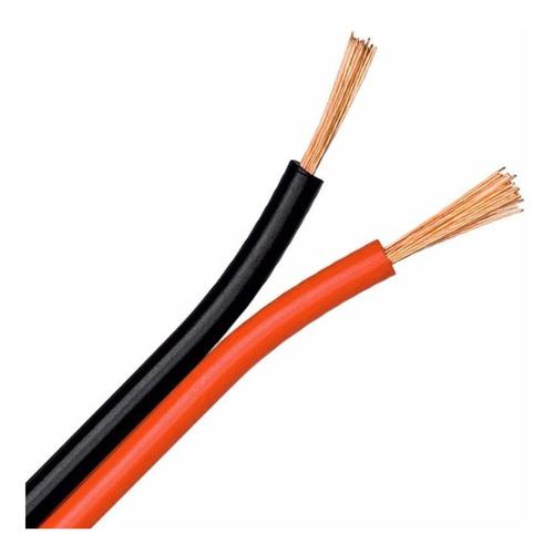 Cable Bafle Parlante 2 X 0,50mm Siliconado Plugtech 1451