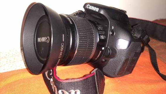 T3i Canon Só 9k Cliks + Lente Bolsa Cartão De Memória