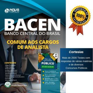 Apostila Concurso Bacen - Comum Aos Cargos De Analista
