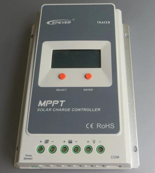 Dois Controlador De Carga 20a Mppt Tracer Solar