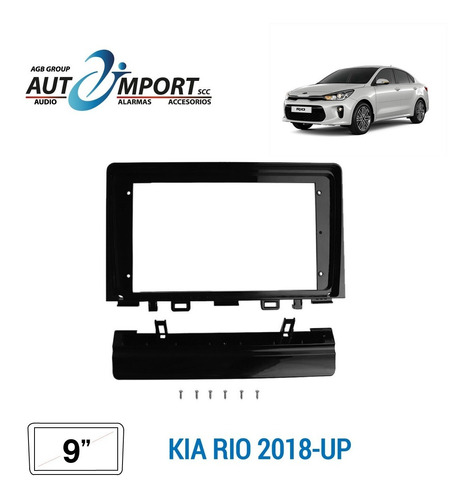 Adaptador De Radio 9 Pulgadas Kia Rio 2018-up