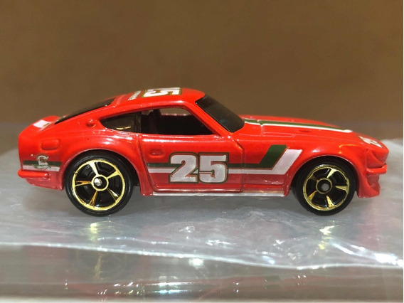 Hot Wheels Datsun 240z Holiday Hot Rods 2011 - Vermelho