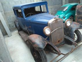 Chevrolet/gm Coach 1931 Original Nao É Ford 1929 Tudor