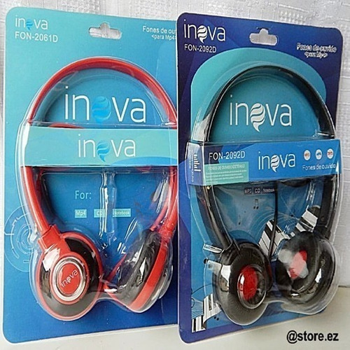 Imagem 1 de 2 de Headphone Inova Fon-2092d - 2944