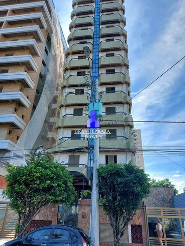 Apartamento Com 1 Dorm, Canto Do Forte, Praia Grande - R$ 220 Mil, Cod: 1545 - V1545