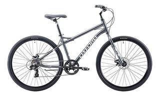 Bicicleta Oxford Capital 7v Negro Gris Aro 29