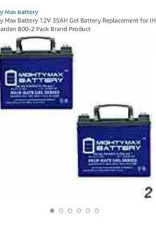 Baterías De Gel 12v