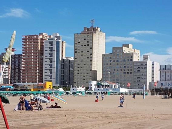 ¡ Vista Al Mar¡ A 50 Mts Playa 1 Amplio Ambiente Al Frente
