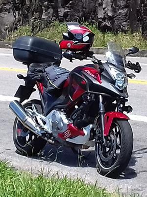 Honda Nc700x Abs 2014 Nc 700cc 40mil Km Rodados Ipva 2020 Pg