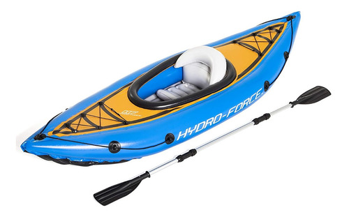 Kayak Inflable Bestway Cove Champion Con Remo & Inflador