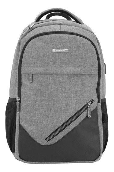 Mochila Executiva Escola Notebook Usb+cabo Masculina Mormaii