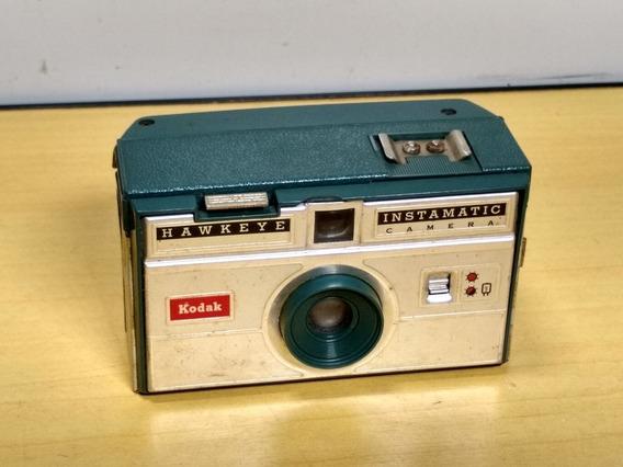 Câmera Fotográfica Kodak Hawkeye Instamatic Ler Obs L1483