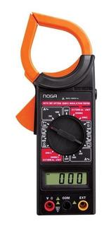 Pinza Amperometrica Digital Tester Multimetro Noga Dt-266 Ep