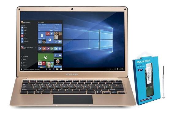 Notebook Legacy Air Intel Celeron 4gb Dourado - Pc241