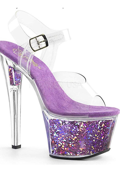 Zapatos Pleaser Sky-308gf Importados De Usa