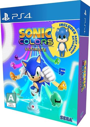 Imagen 1 de 5 de Sonic Colors Ultimate Edición Day One - Playstation 4