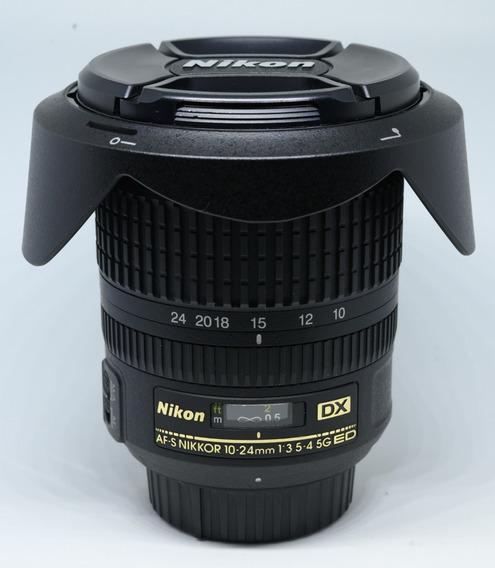 Lente Nikon Dx 10-24mm 3.5-4.5