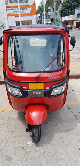 Motocarro Tvs El Duramax 225 Con Radiador Para Mototaxi 2020
