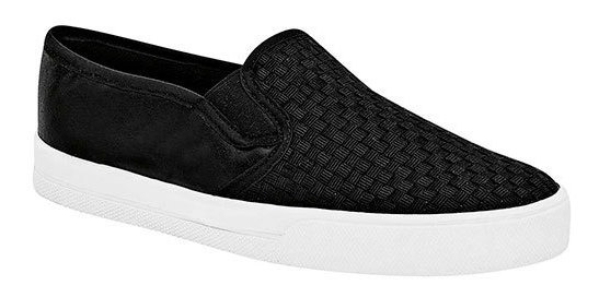 Zapato Piso Gösh Negro Textil Dama Textura C09555 Udt