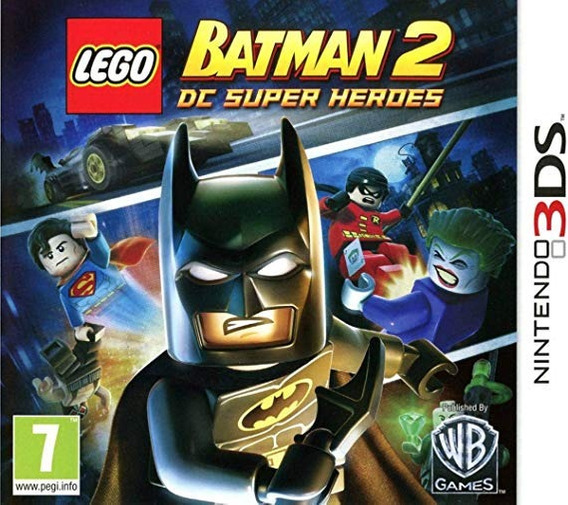 Jogo Lego Batman 2 Dc Super Heores - Nintendo 3ds Lacrado