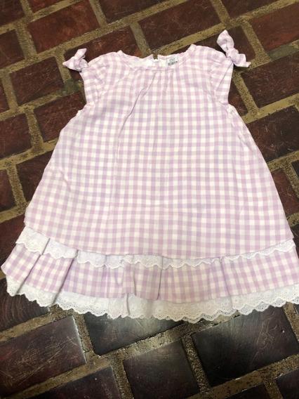 Vestidito Vestido Zara Nena T18-24m Niñas Bebe
