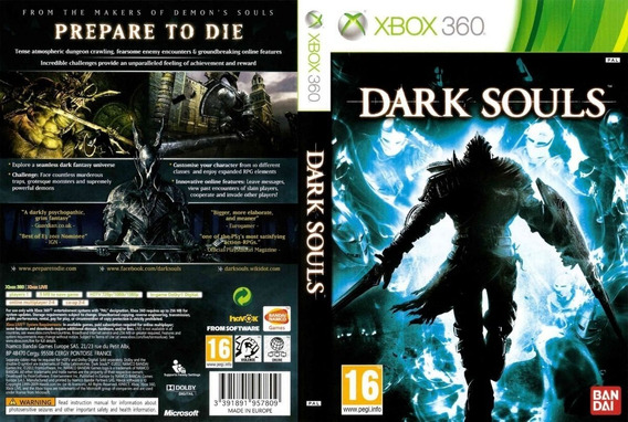 Dark Souls Xbox 360 - Midia Digital
