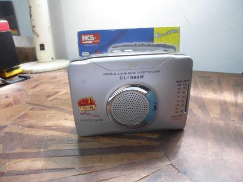 Sucata Walkman Nks Sound Cl-988m - Nao Funciona
