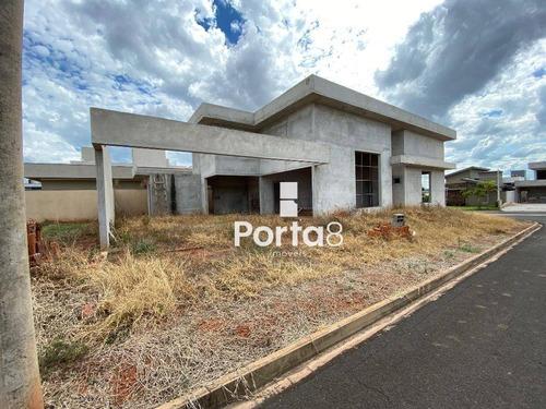Casa Com 3 Dormitórios À Venda, 220 M² Por R$ 720.000,00 - Residencial Gaivota Ii - São José Do Rio Preto/sp - Ca2872