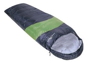 Saco De Dormir Para Camping Ntk 5ºc A 12ºc - Preto E Verde