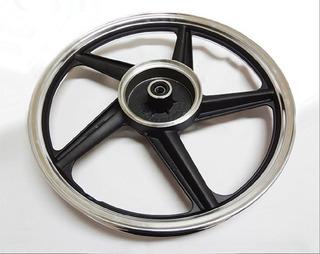Rin Trasero Aluminio Negro Ft125 Clasica / Roja / Sport Forza125 Dt125 Clasica / Sport Dt150 Clasica Xft125 Italika