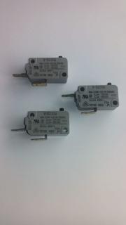 Juego De 3 Micro Interruptores Para Microondas Sharp