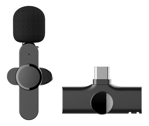 Imagen 1 de 10 de Mini Micrófono Inalámbrico Usb-c Android Plug-play Ep033
