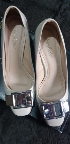 Sapato Século Xxx Couro Usado Uma Vez