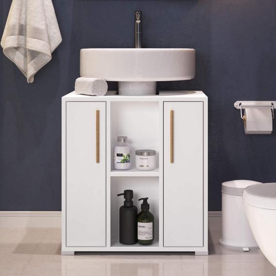 Gabinete Para Banheiro 2 Portas Versa Brv Móveis Ghwt