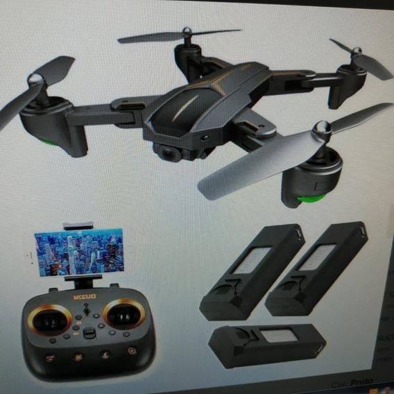 01 Drone Visuo Xs812 - Gps - 4k - Wifi - Camera Ultra Hd