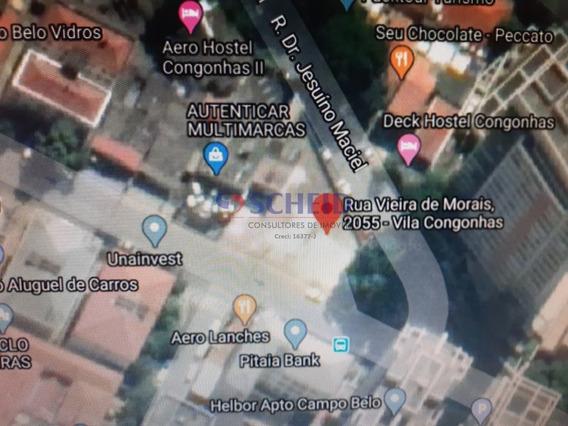 Terreno Próximo Da Estação Congonhas Do Monotrilho - Linha Ouro - Mr69051