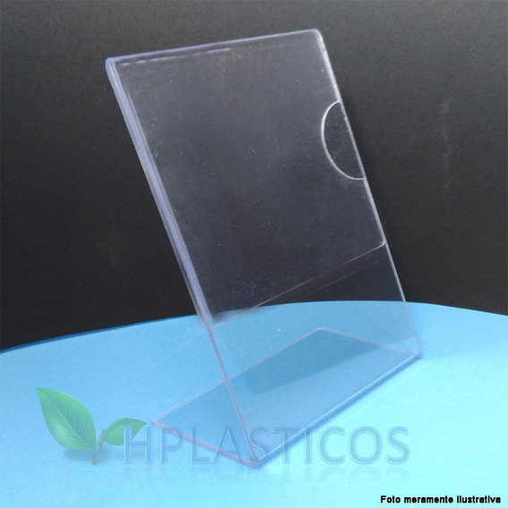 Display Porta Retrato Simil Acrilico A6 10,5x15 Kit 100